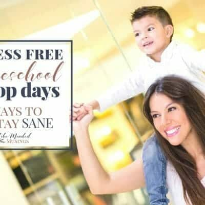 Stress Free Homeschool Co-op Days – 6 Ways To Stay Sane!