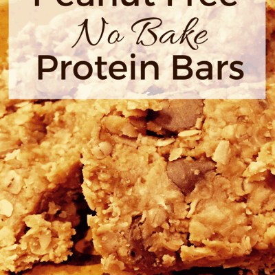 Quick and Easy Recipe  – Peanut Free, No Bake, Energy Bars!