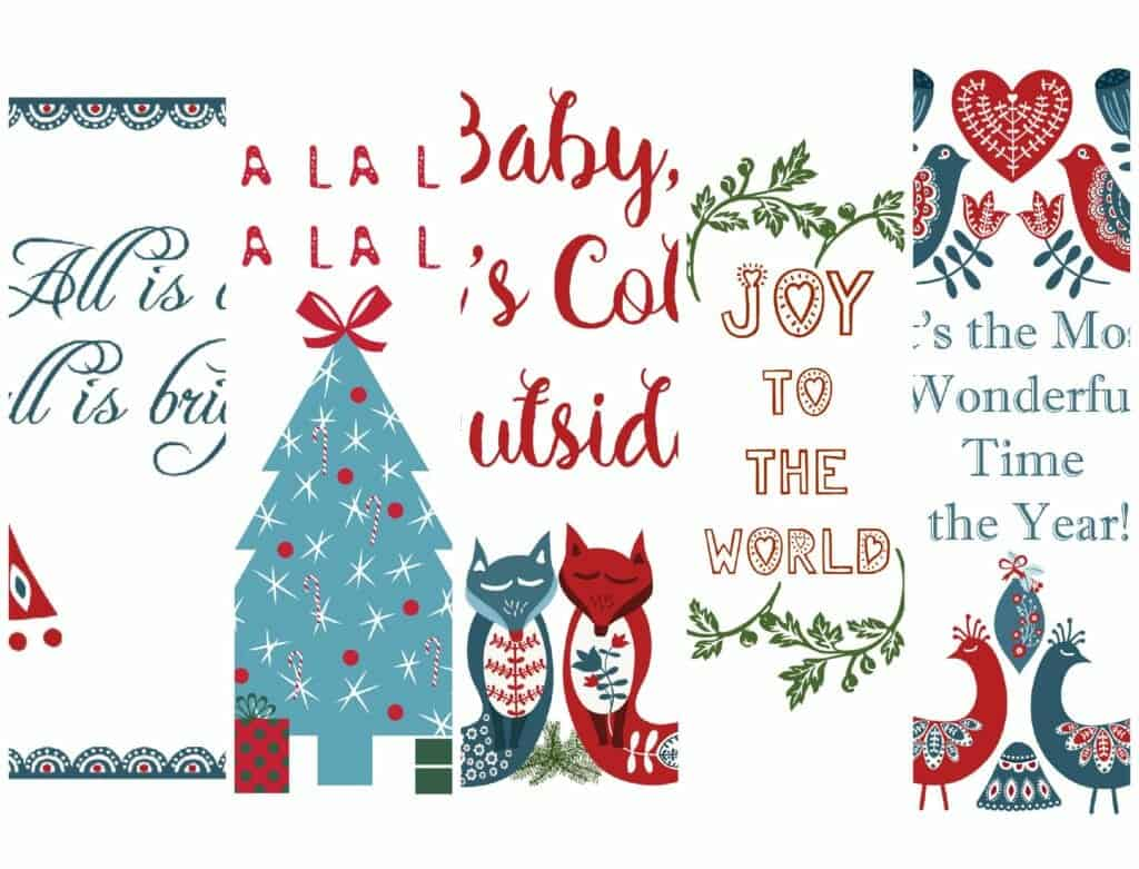 Christmas-Printables-Pack-carol-pack-collage
