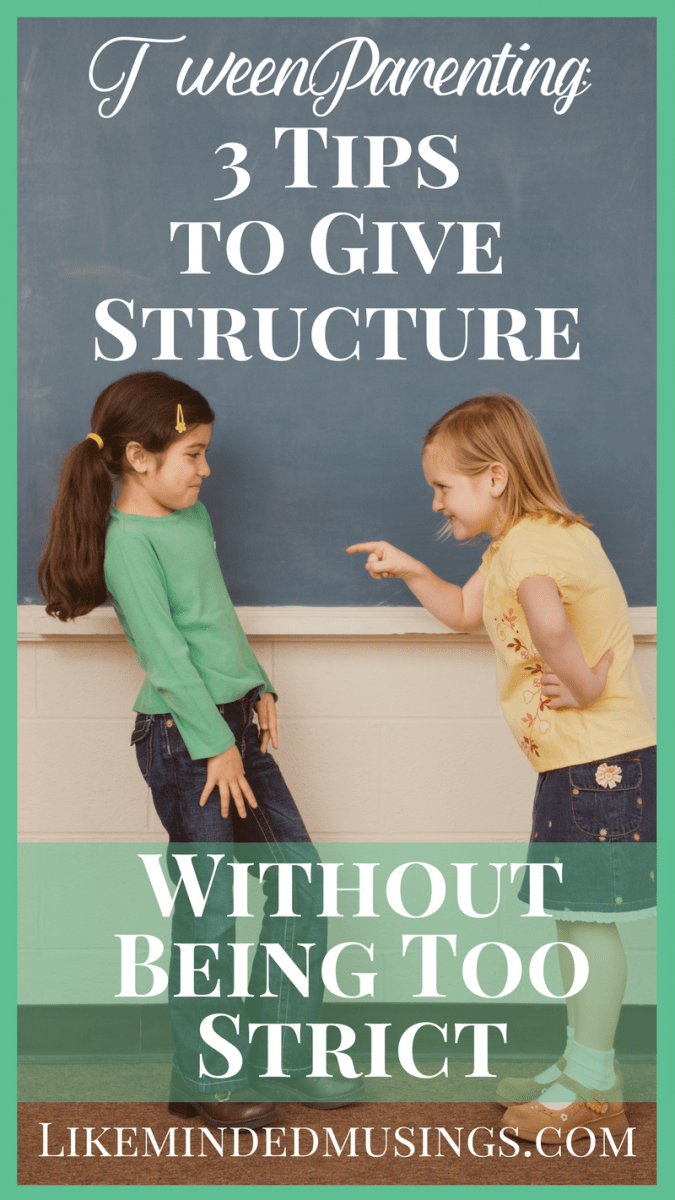 3 tips to give structure without being too strict Like Minded Musings