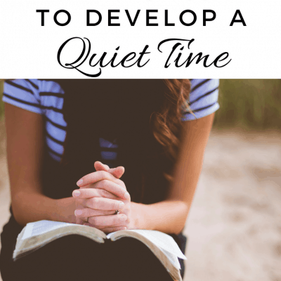 How to Encourage Your Tween to Develop a Quiet Time