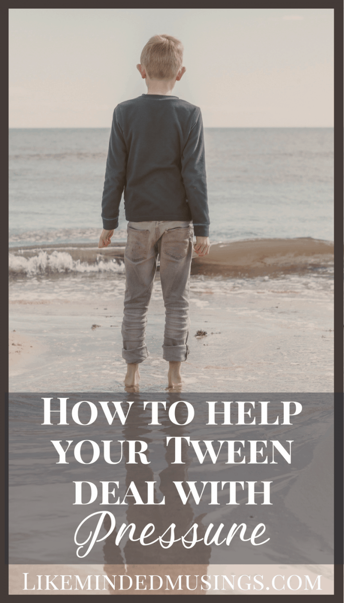 How to Help Your Tween Deal With Pressure | Like Minded Musings