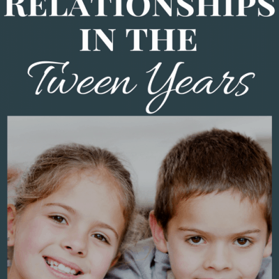 Navigating Sibling Relationships in the Tween Years