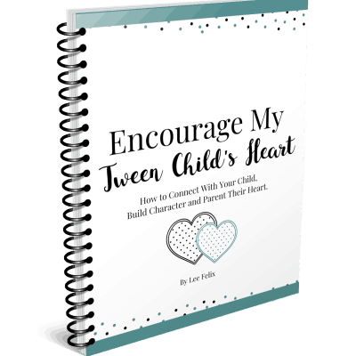 Encourage My Tween Child's Heart: Character Building Printable Pack