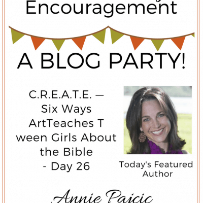 C.R.E.A.T.E. – Six Ways Art Teaches Tween Girls About the Bible