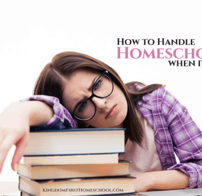 Guest Post: How to Homeschool When its Hard
