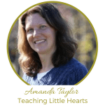 Amanda Taylor Teaching Little Hearts