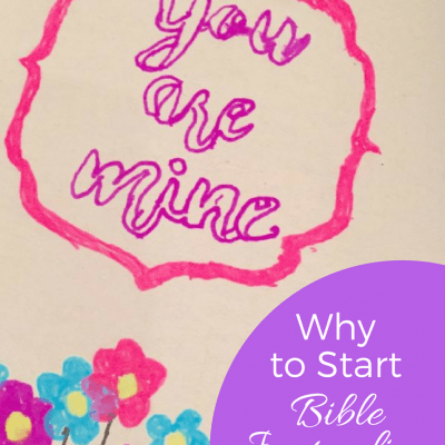 Why Start Bible Journaling with Kids?