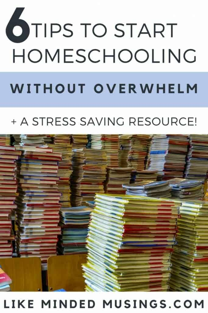 6 tips to start homeschooling without overwhelm Like Minded Musings