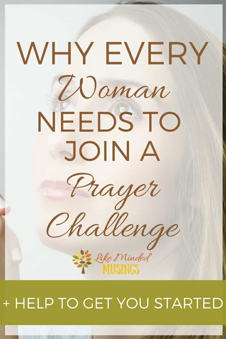 Why Every Woman Needs To Join A Prayer Challenge Like Minded Musings