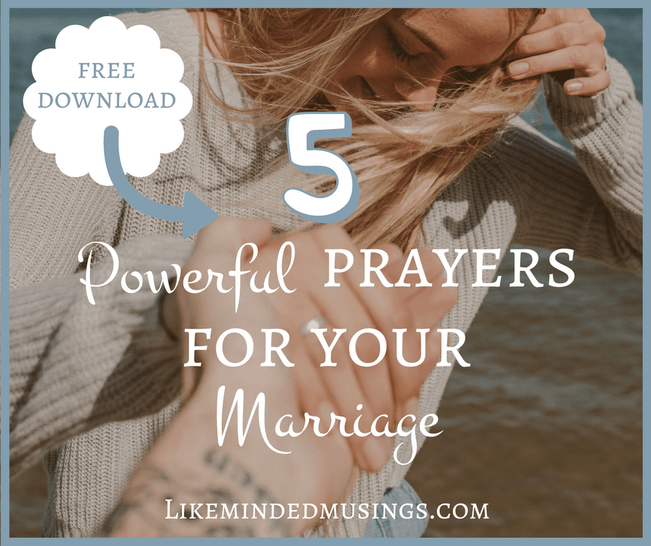 Facebook 5 Powerful Prayers for your Marriage Like Minded Musings