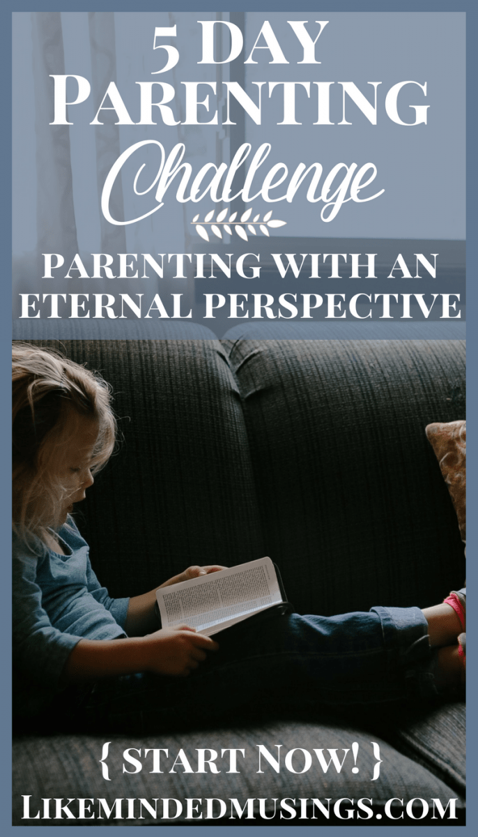 5 Day Parenting Challenge Pins Like Minded Musings · Between Us: A 52-Week  Keepsake Devotional ...