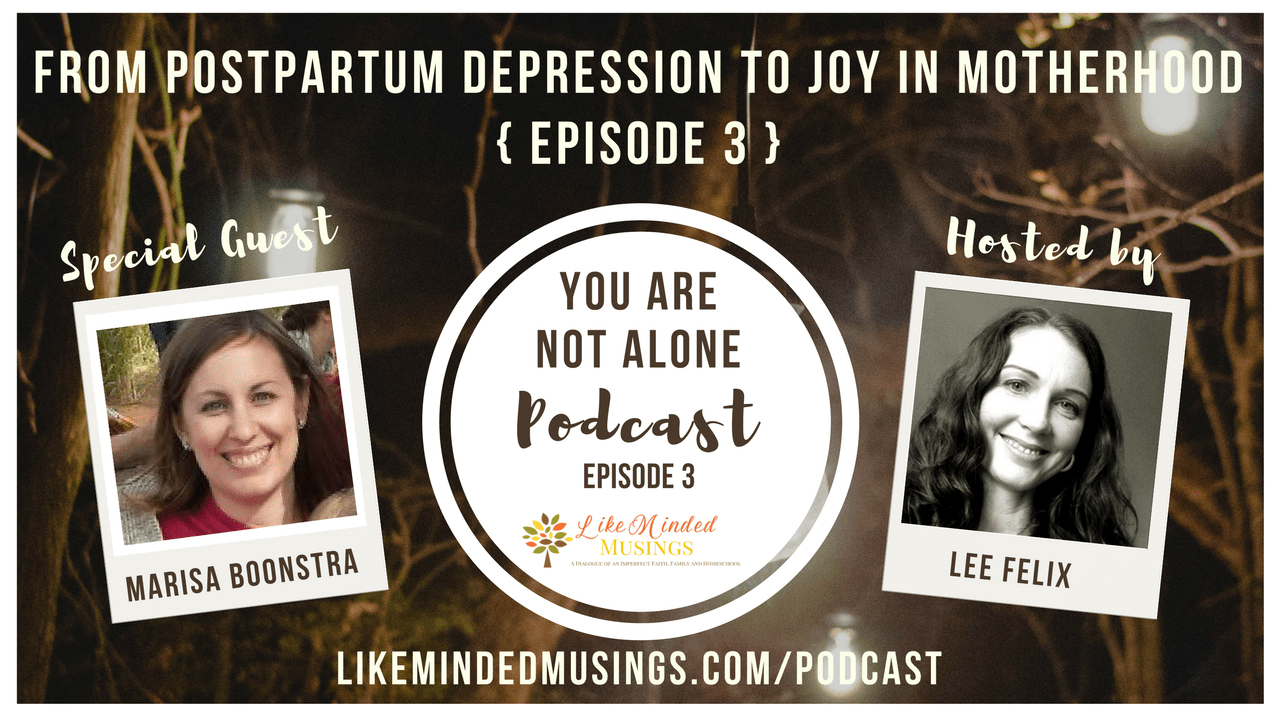 From Postpartum Depression to Joy in Motherhood-You Are Not Alone Episode 3   Like Minded Musings
