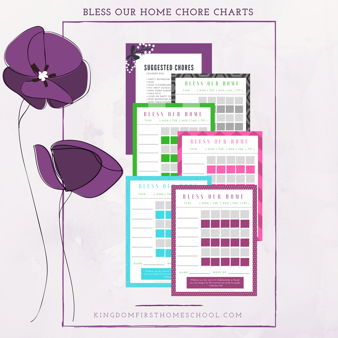 Bless-Our-Home-Chore-Charts
