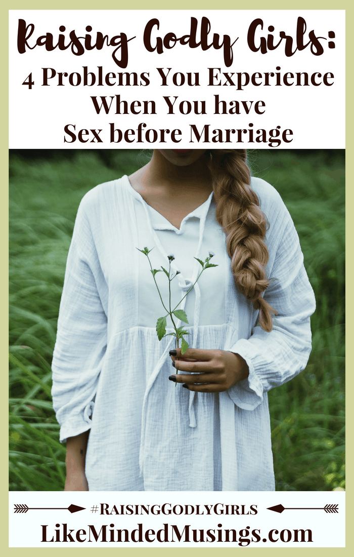 Problems with sex before marriage