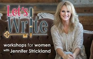 lets-write-Jennifer Strickland Like Minded Musings