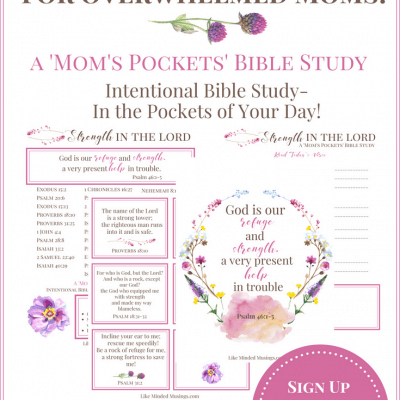 Intentional Bible Study for Overwhelmed Moms – FREE Monthly Printables!