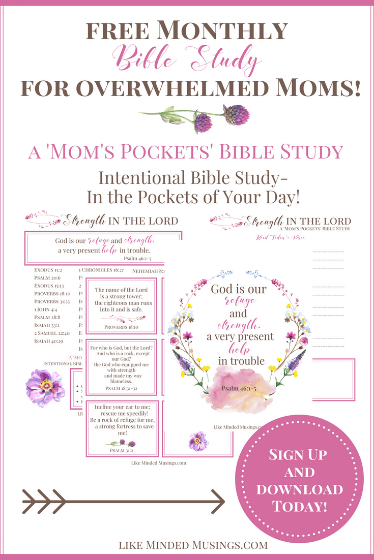 Pinterest Intentional Bible Study Overwhelmed Moms Pockets Like Minded Musings