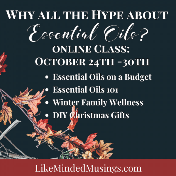 Why all the hype about essential oils on like minded musings details
