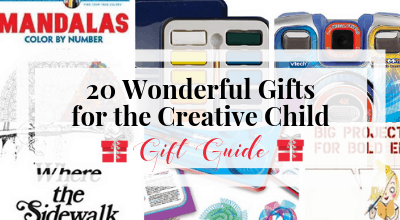20 Wonderful Gifts for the Creative Child: Gift Guide