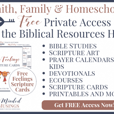 FREE Private Access to the Biblical Resources Hub
