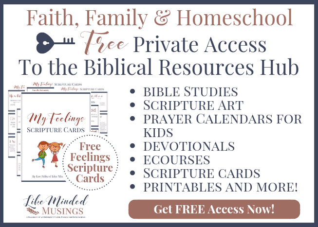 FREE Private Access to the Biblical Resources Hub for Faith Family Homeschool