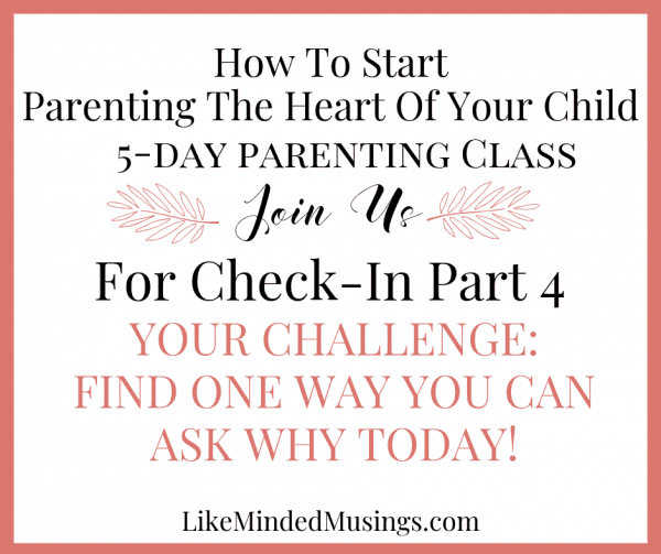 5 part parenting class 4 What is heart based parenting really like minded musings