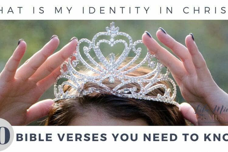 What is my identity in Christ bible study Like Minded Musings