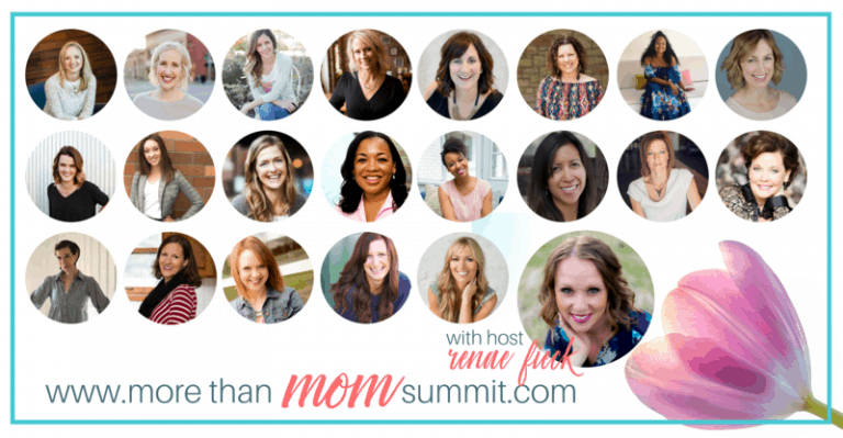 More Than Mom Summit Speaker by Renae Fieck Like Minded Musings