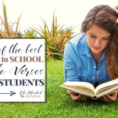 30Of TheBestBackToSchool Bible VersesForStudents