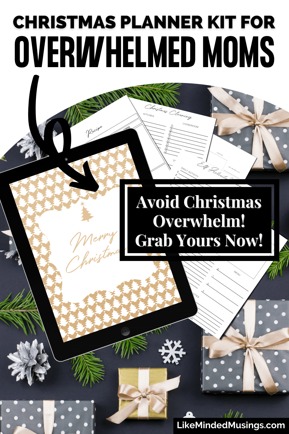 Christmas Planner Pages Printable