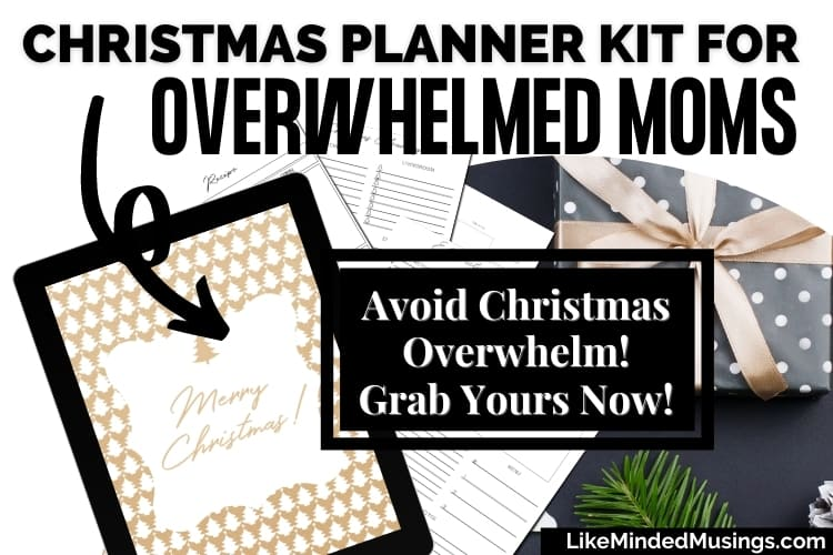 christmas planning pages